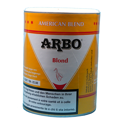 Tabac à rouler Arbo Blond American Blend