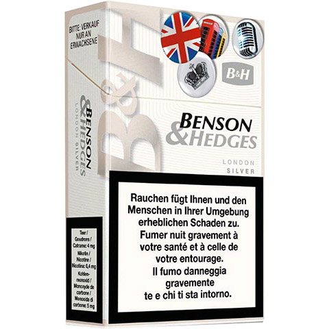 Benson & Hedge London White
